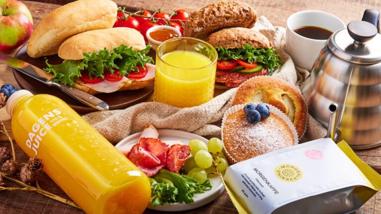 Frokost levert på døra